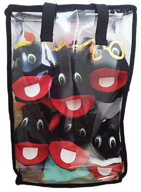 Kit Fantoche Família Negra Completa - KIT007