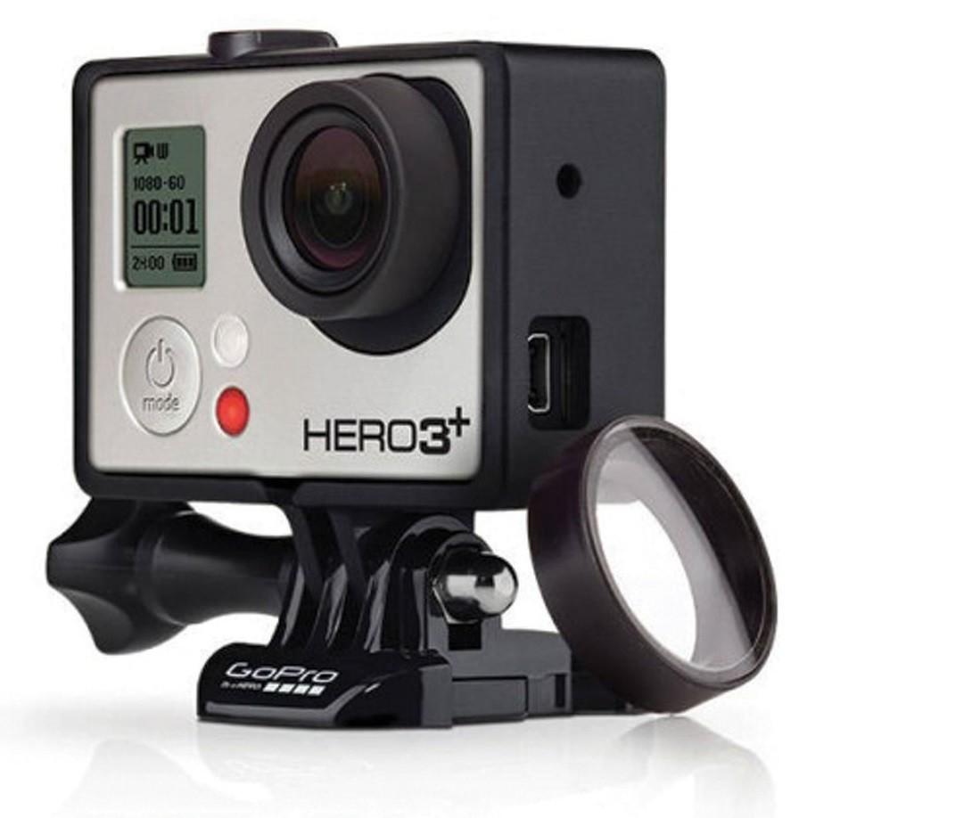 2 Lentes Protetoras Para GoPro Hero3 E Hero3+ - Agclk-301