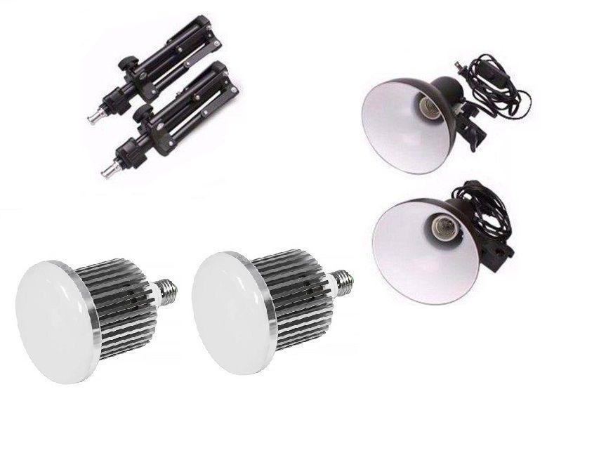 Kit Iluminação Para Mini Estúdio Fotografia De Produtos Still - PKL45 LED