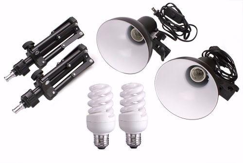 Kit Iluminação Para Mini Estudio Fotografia De Produtos Still PKL45 220v