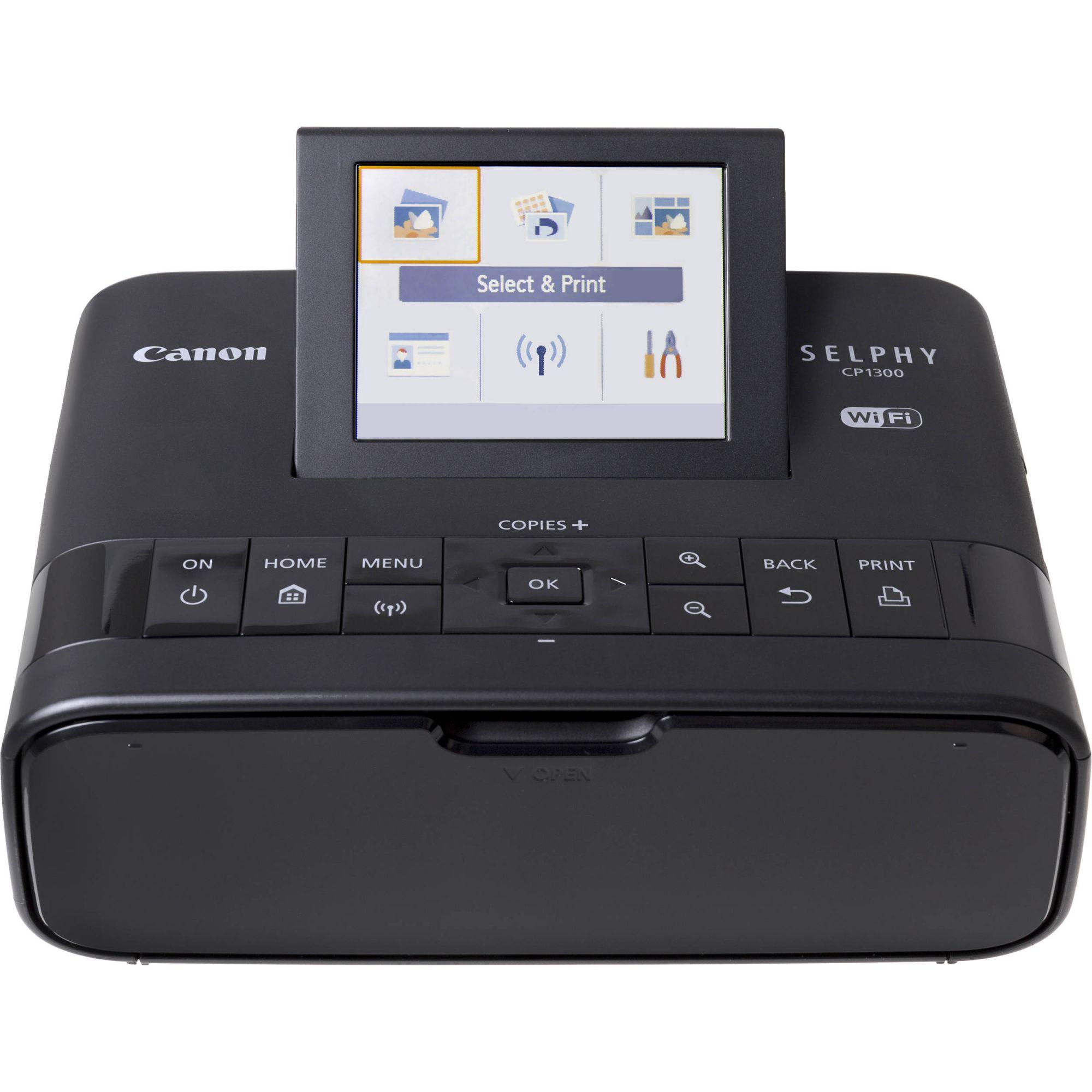 Kit Impressora Fotográfica Canon Portátil + Bateria Recarregável - CP1300+NB-CP2LH