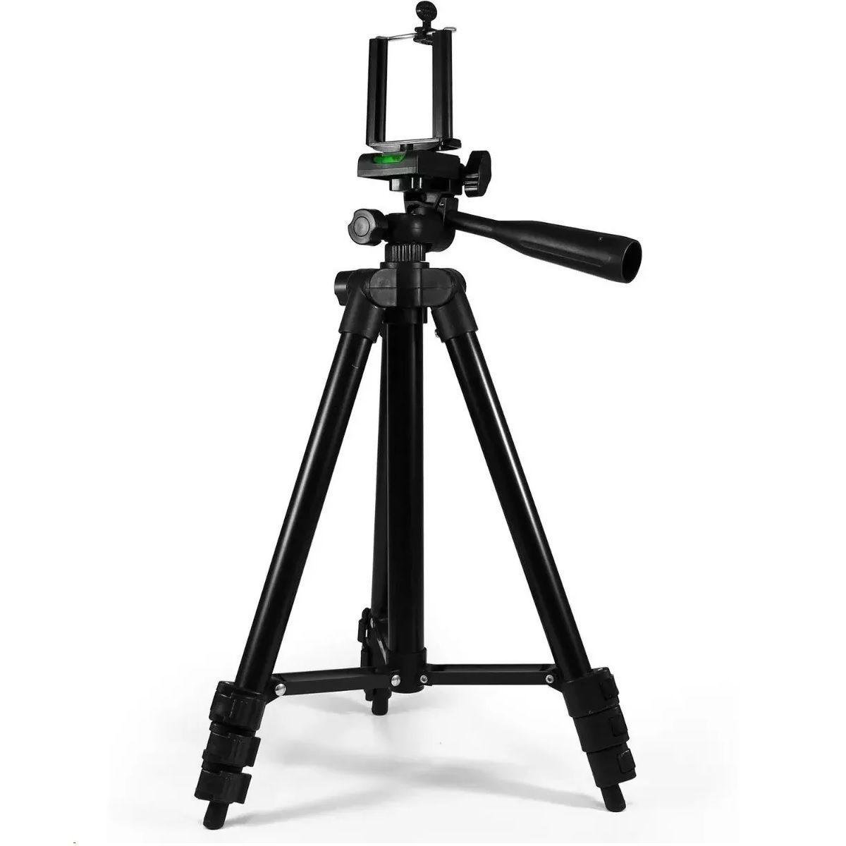 Kit Mini Estudio 60cm + Tripé Telescópico 1,2m - EVOBOX+SL-2111H