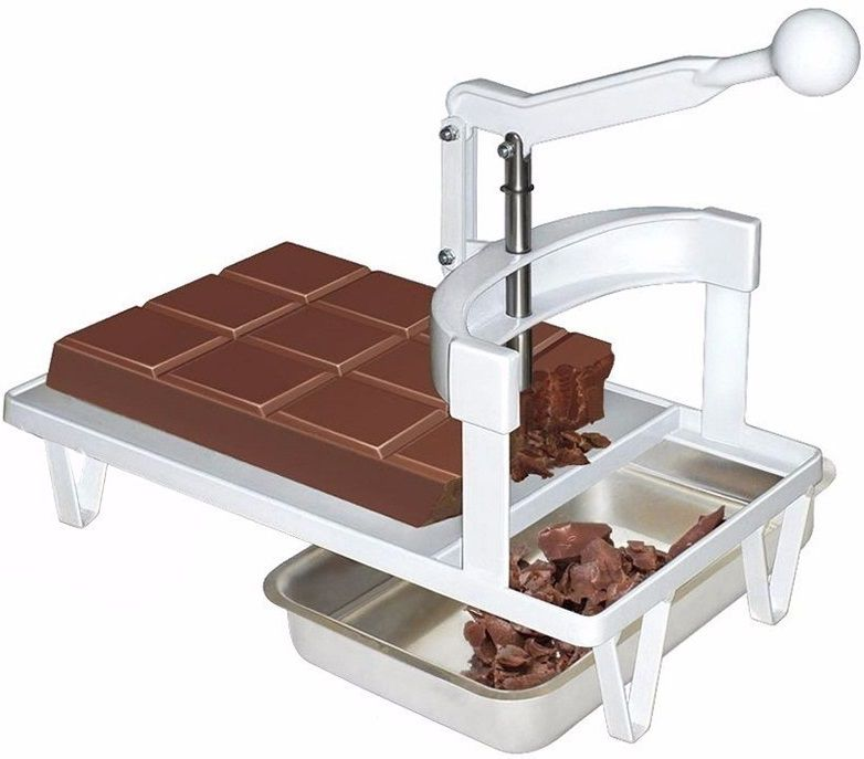 Kit Para Cozinha Panela Banho Maria + Garfo Pegue Firme + Picador de Chocolate