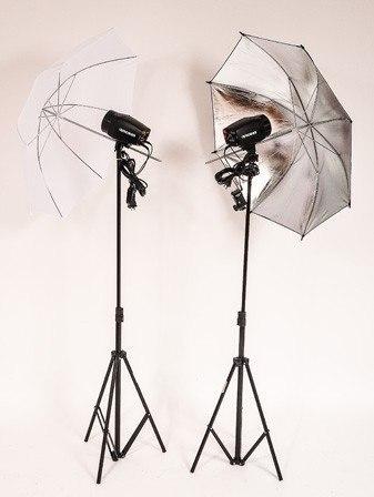Kit Para Estúdio Fotográfico 300ws Profissional - Argos 110v