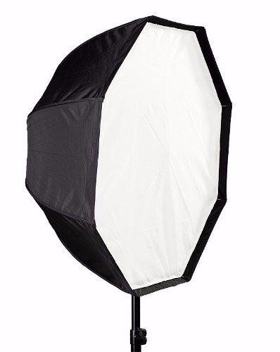 Kit Para Estudio Fotografico Intermediario 2 Em 1 - Octabox 120cm + Suporte SpeedLight D