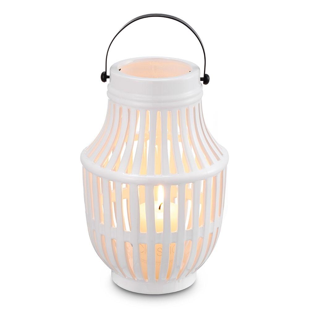 Lanterna Branca Gomos 16,5 X 16,5 X 25 CM Bencafil - 141008