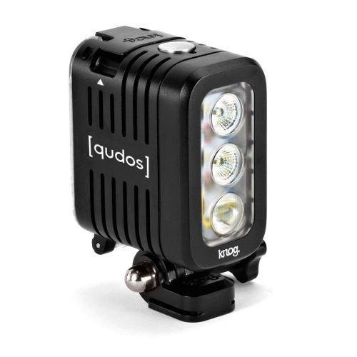 Led Knog Qudos Para Câmeras De Ação GoPro Sony Action DSLR PRETO - 11625s