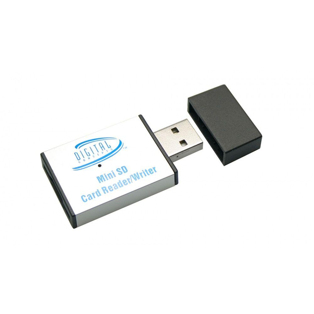 Leitor e Gravador De Cartão Mini SD D-Concepts - CR25M