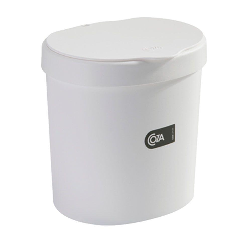 Lixeira Coza 2,5L Branca - BC - 10906-0007