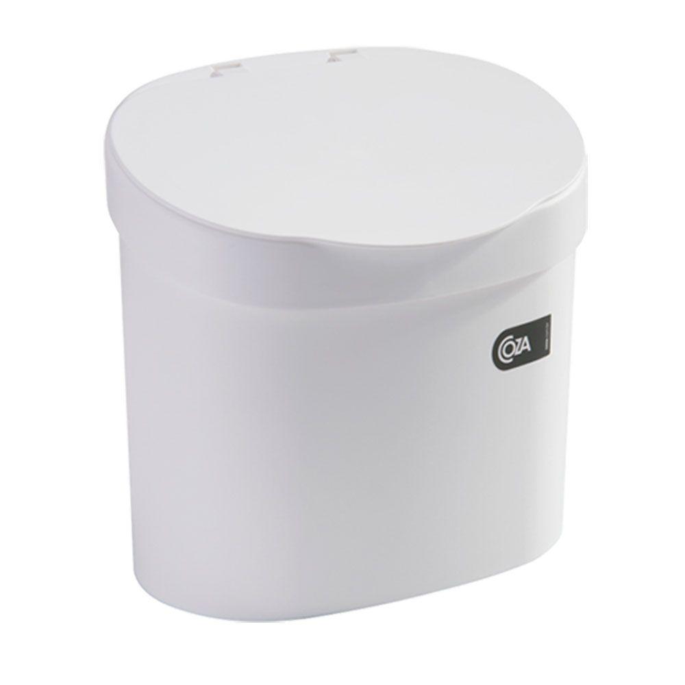 Lixeira Para Pia 4,0 L Coza Branca - 10902-0007