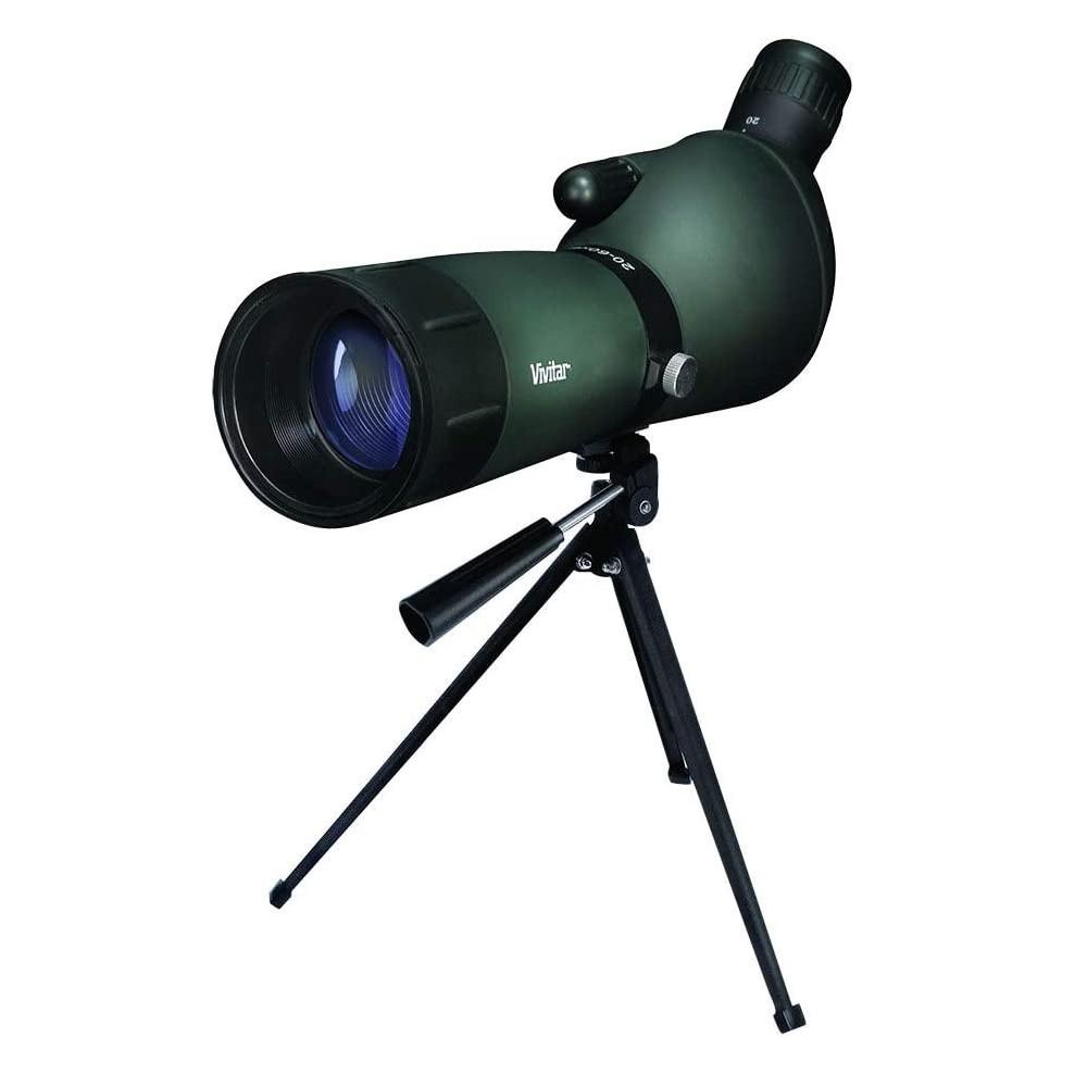 Luneta Com Lente 60mm Ampliação 60x Com Dois Tripes Vivitar - VIVTV2060KIT