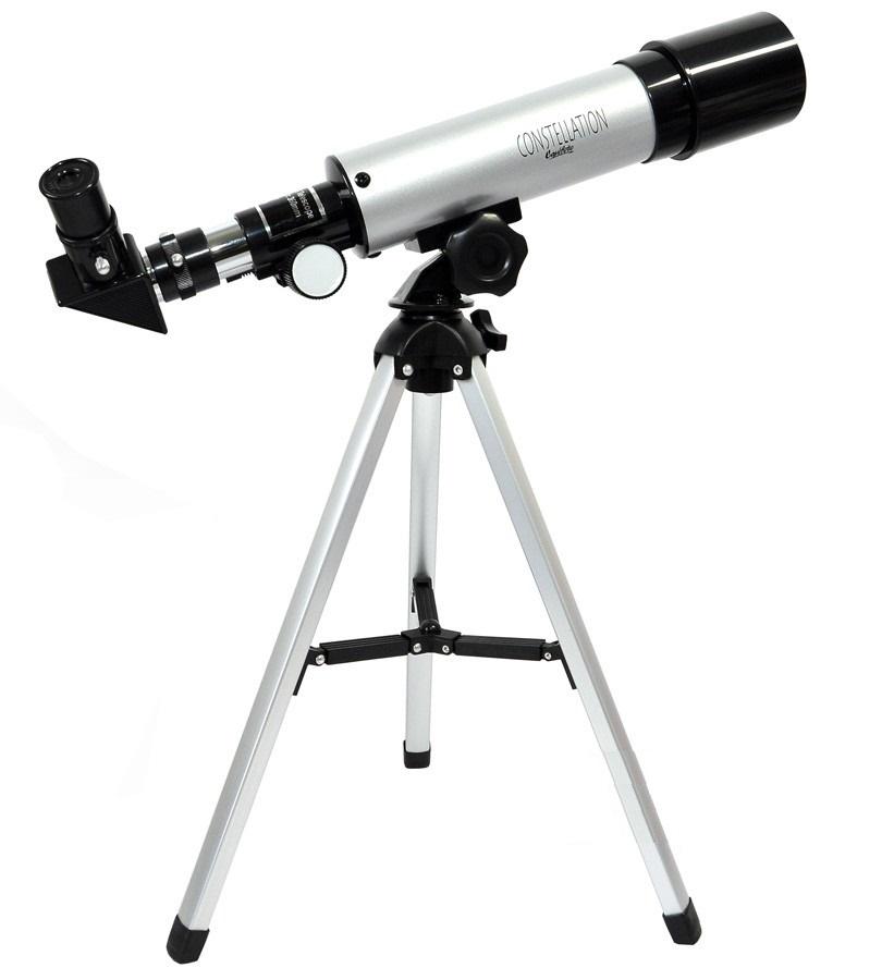 Luneta Greika Com Lente 6mm E 20mm Observação Lunar Terrestre F36050tx