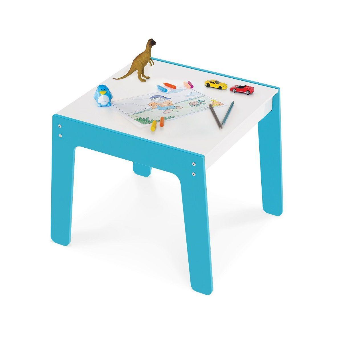 Mesa De Madeira Em MDF Infantil Prática E Fácil - Junges
