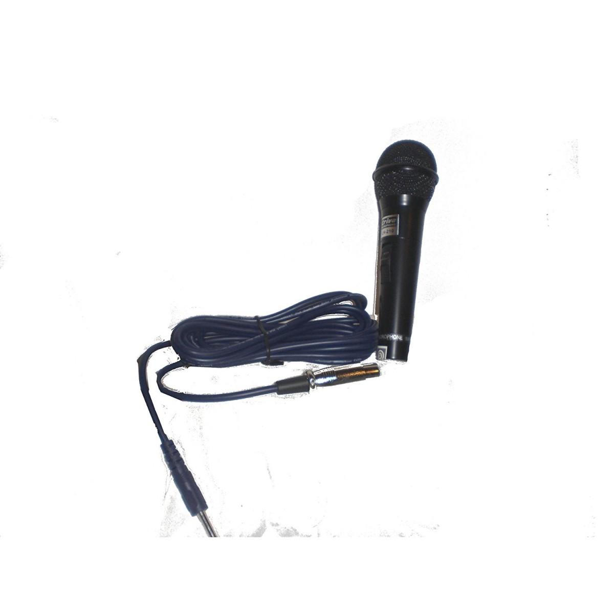 Microfone Dinâmico Profissional Com Fio Criva LH-210