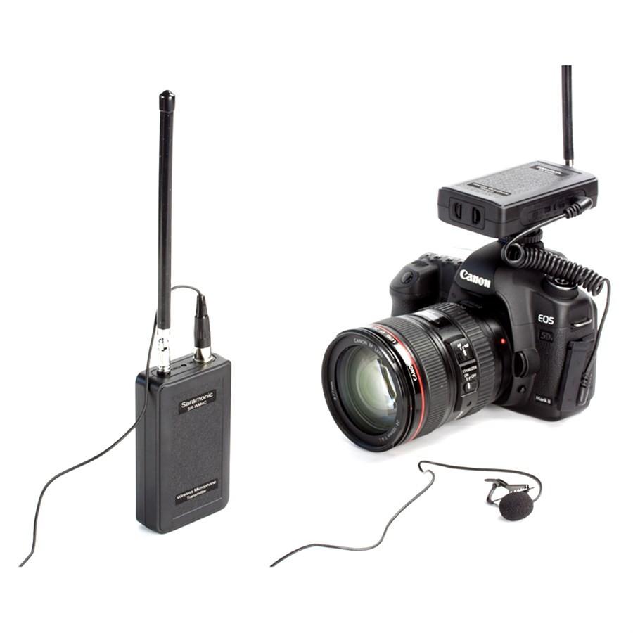 Microfone Sem Fio Saramonic - SR-WM4C