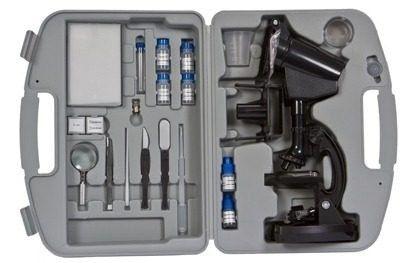 Microscópio Vivitar Com Ampliação 300x 600x E 1200x 100 Itens - VIVMIC4