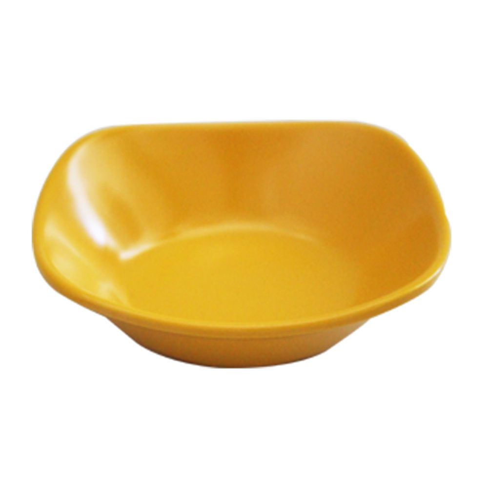 Mini Bowl Brinox Quadrada 10cm Melamina Amarelo - 0434-002