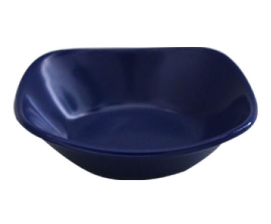 Mini Bowl Brinox Quadrado 10cm Melamina Azul - 0433-002