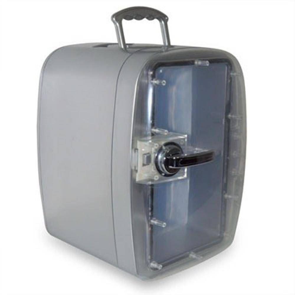 Mini Cooler Polar Prata Quente E Frio Bivolt Para Prata Até 8 Latas - Jb0004