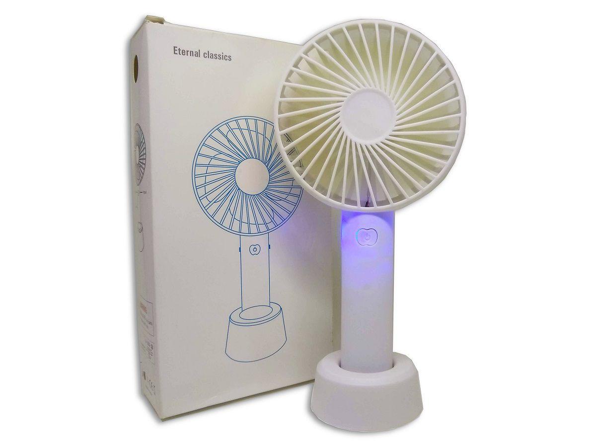 Mini Ventilador Portátil Recarregável Usb - AL-SF1300