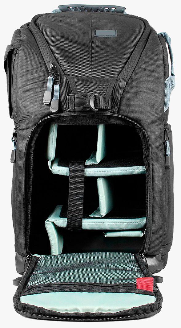 Mochila Easy Para Câmera Fotográfica DSLR Acessórios Notebook Até 15,5'' - EC-8806