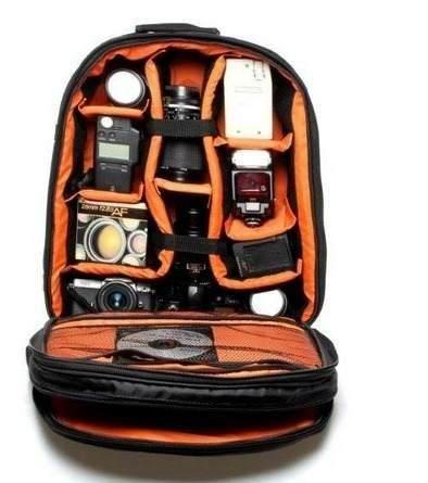 Mochila Notebook Maquina Fotografica Dslr Acessórios - NEW VMB