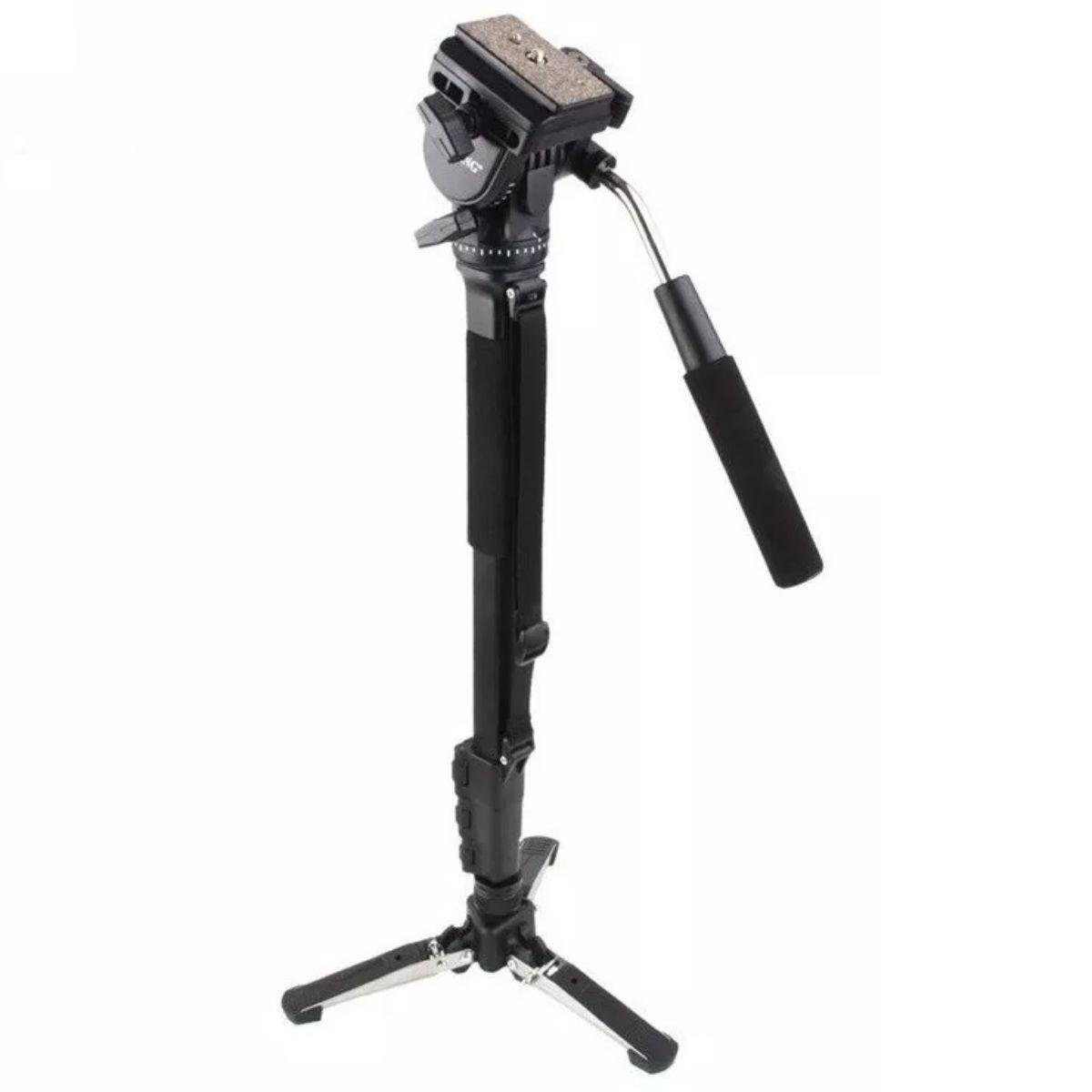 Monopé Profissional Para Câmera Cabeça Hidráulica Yunteng Vct-288