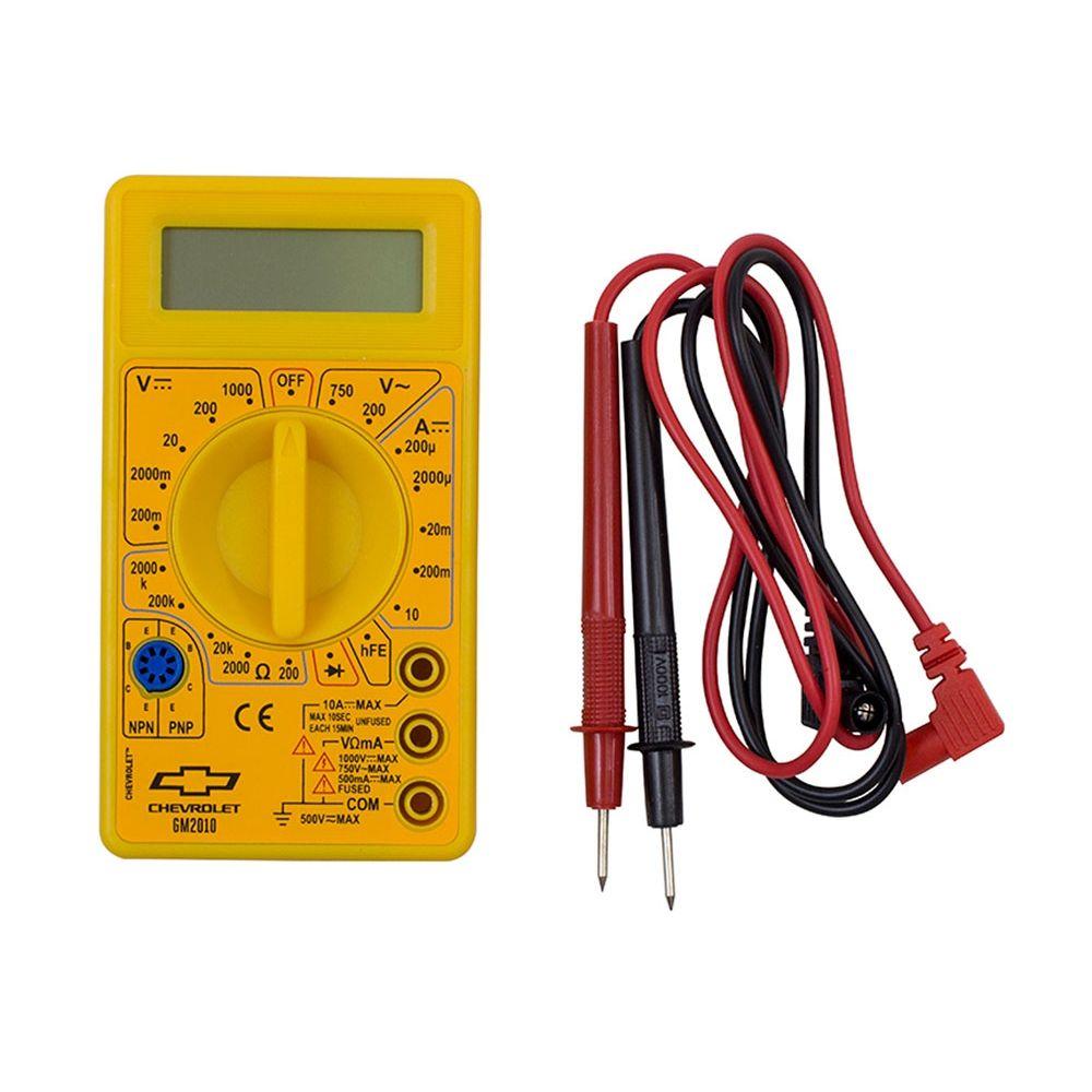 Multímetro Digital 3 1/2 Dígitos GM - GM2010