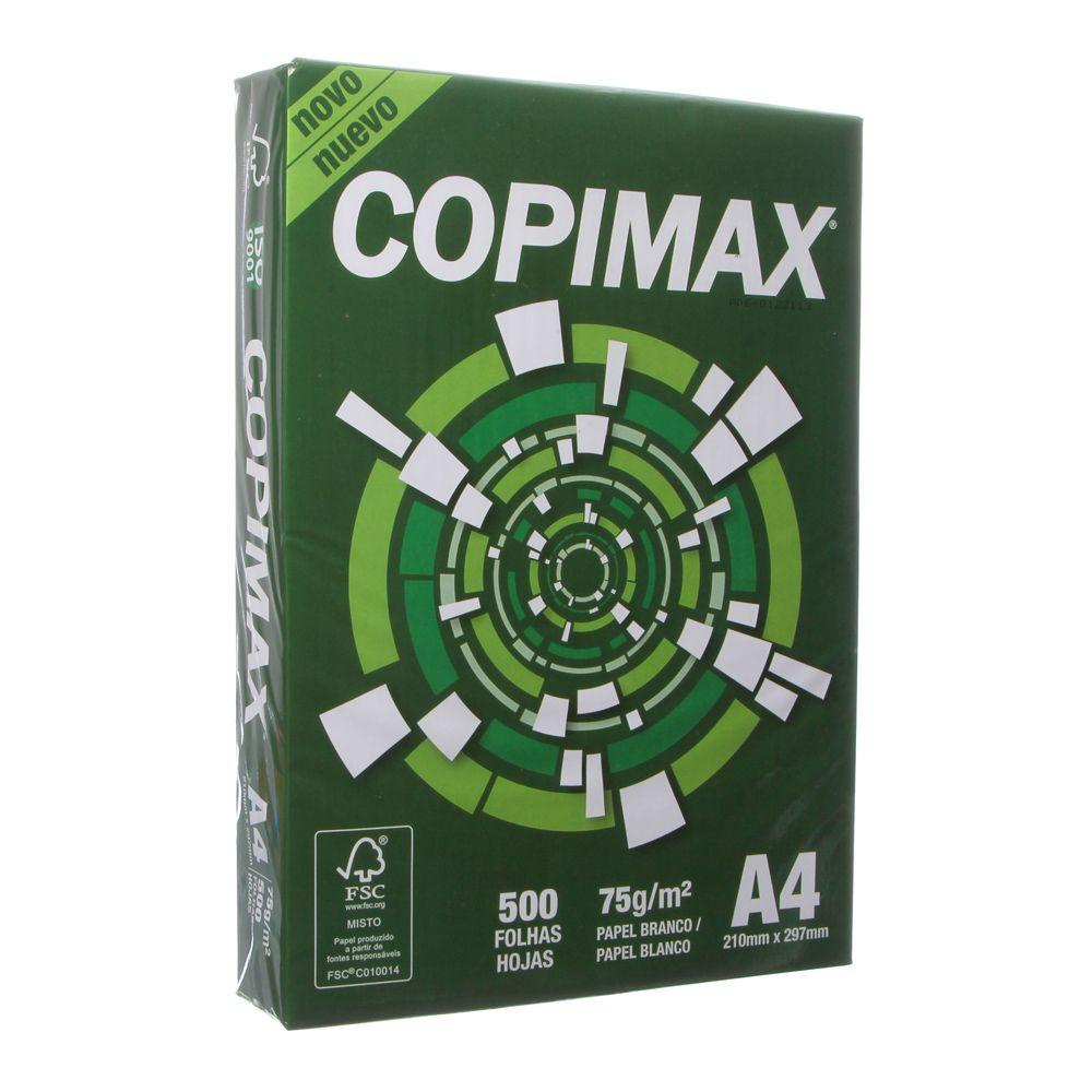 Papel Sulfite A4 Copimax 1 Resma de 500 Folhas - 1 PACOTE