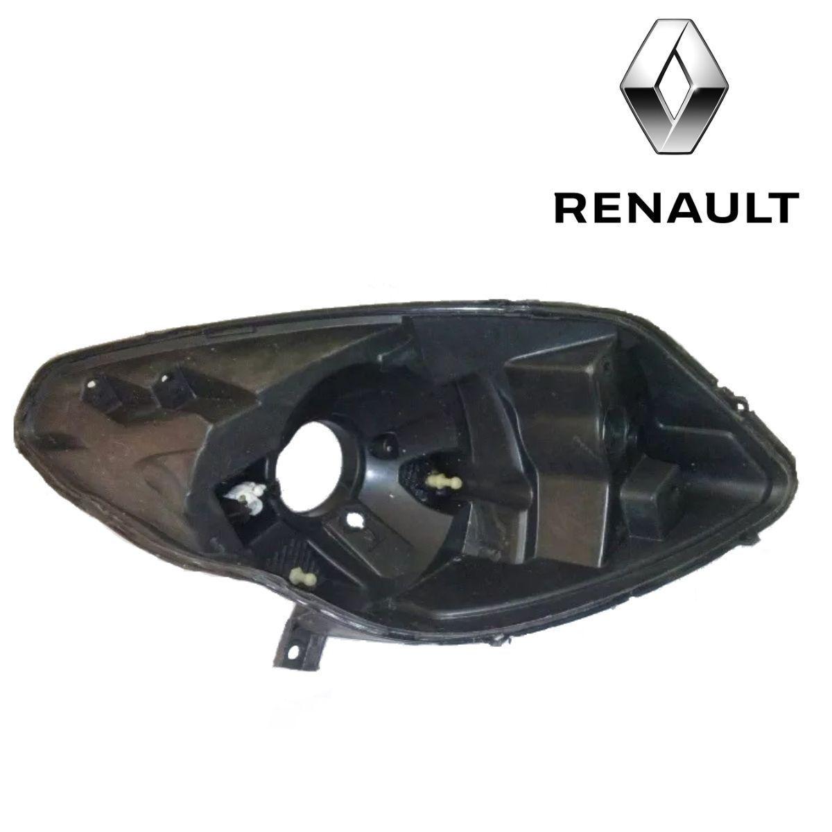 Par De Carcaça De Farol Dianteiro Renault Sandero 2008 A 2011 Original Valeo USADA - DIREITO E ESQUERDO