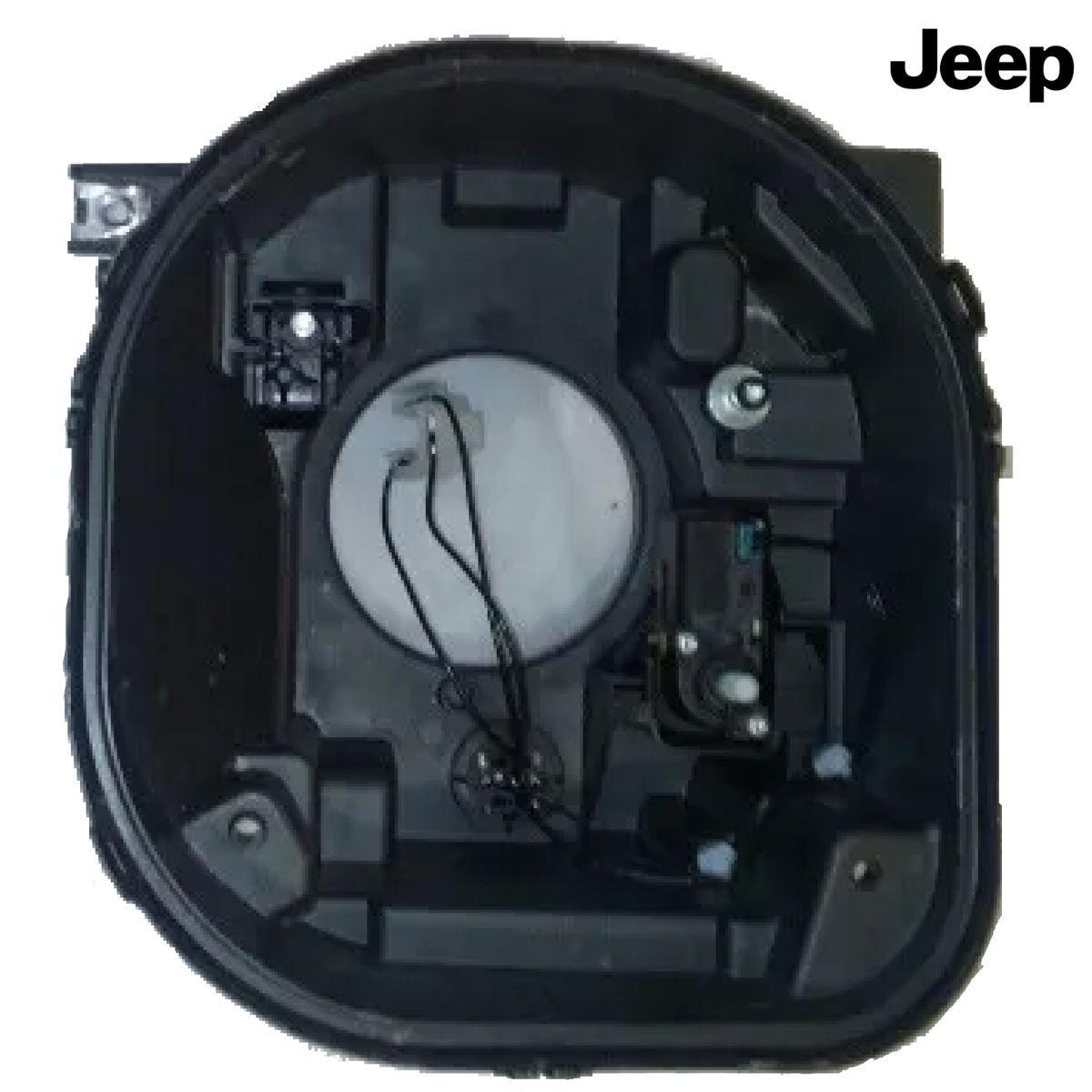 Par De Carcaça Farol Dianteiro Jeep Renegade 2015 A 2018 Original Marelli USADA - DIREITO E ESQUERDO