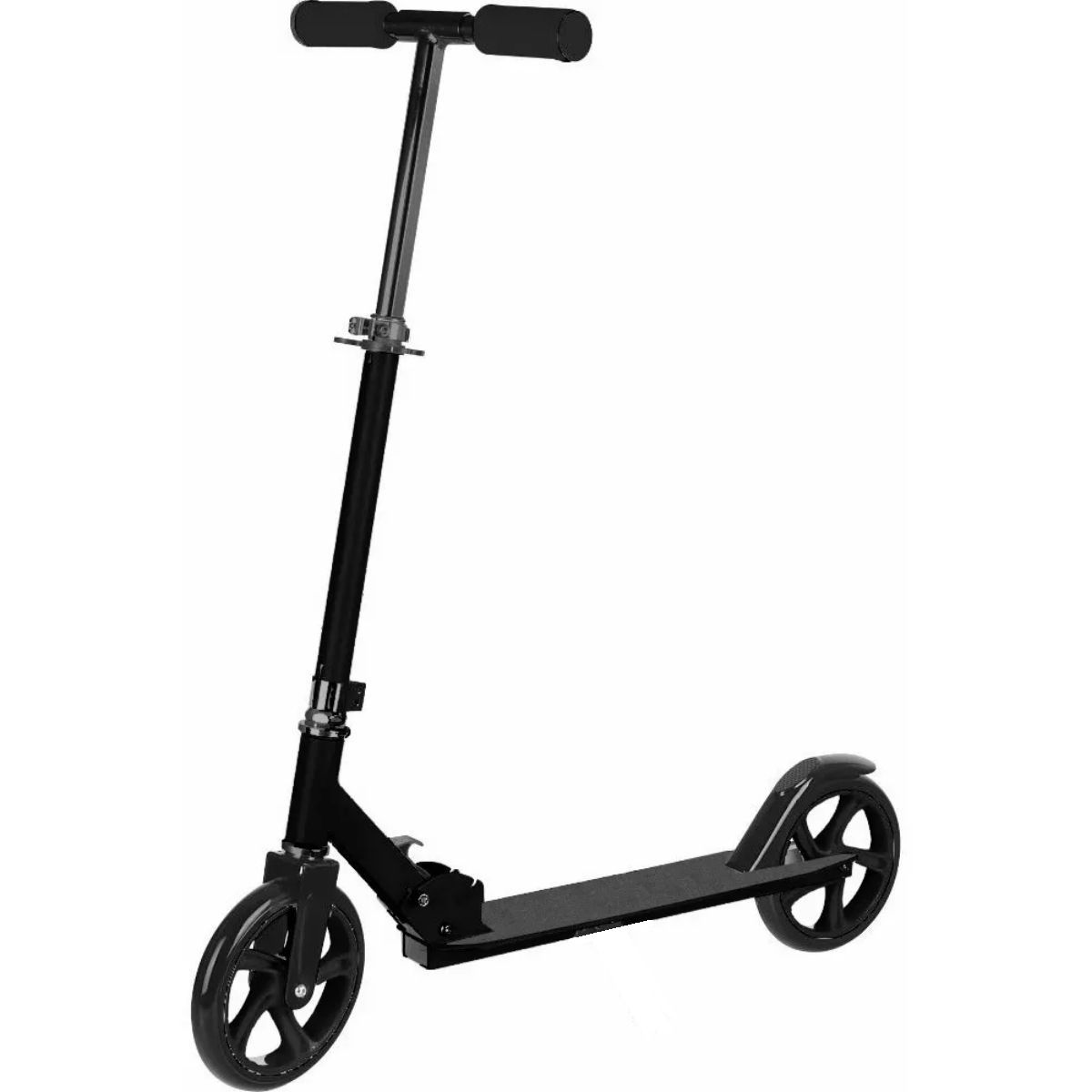 Patinete Adulto e Infantil Roda 200mm Preto Com 2 Rodas - YTA-663-BLACK