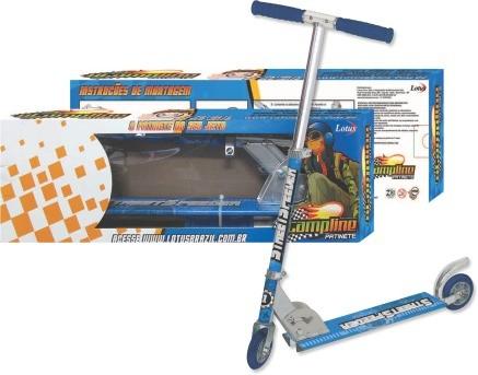 Patinete Infantil Azul Em Aluminio E Ferro Street Speeder - 0053AZ