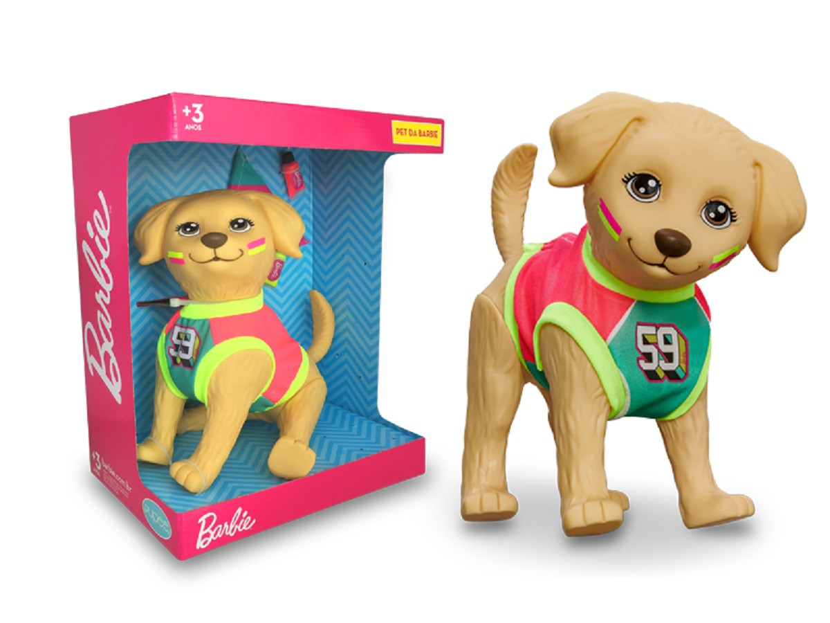 Pet Da Barbie Cachorro Taff Esportista - 1268