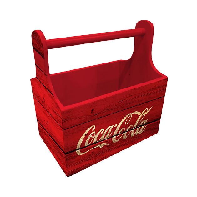 Porta Garrafa/Lata Mad Coca-cola 6 Pack Wood - 85027417
