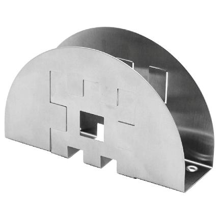 Porta Guardanapo  Inox 15 Cm L - 2098