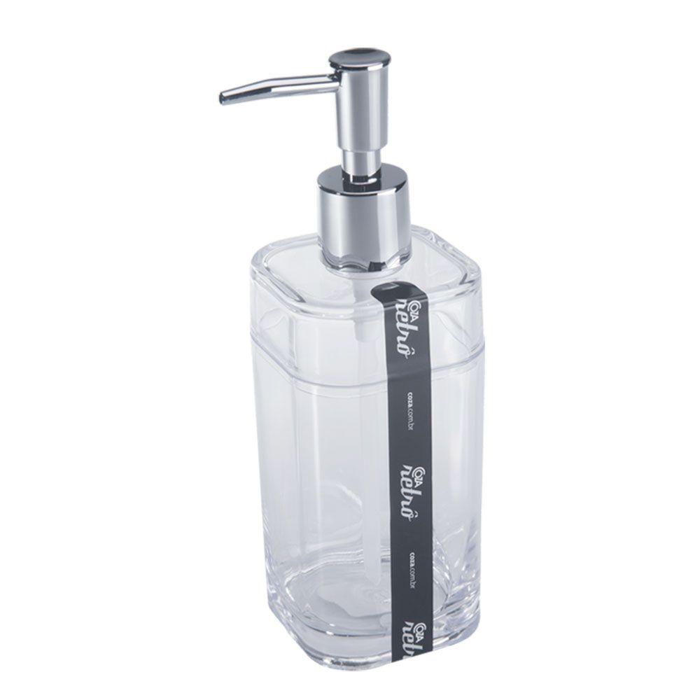 Porta Sabonete Liquido Splash Cristal - 20451-0009