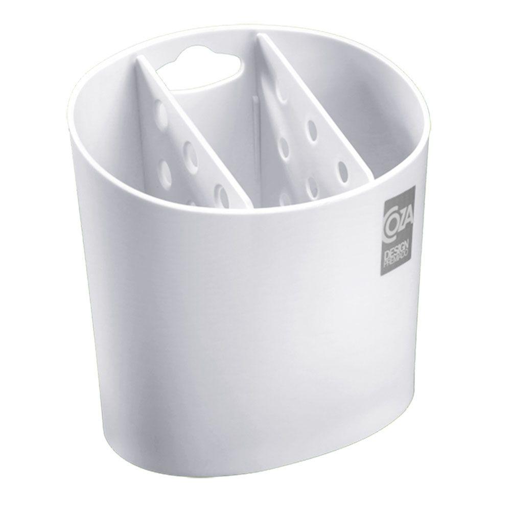 Porta Talheres Branco Coza - 10840-0007