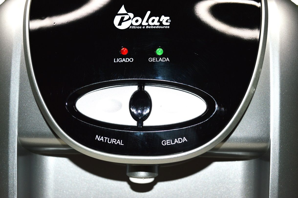 Purificador de Água Eletrônico Prata Natural e Gelada 110V - SV8000A