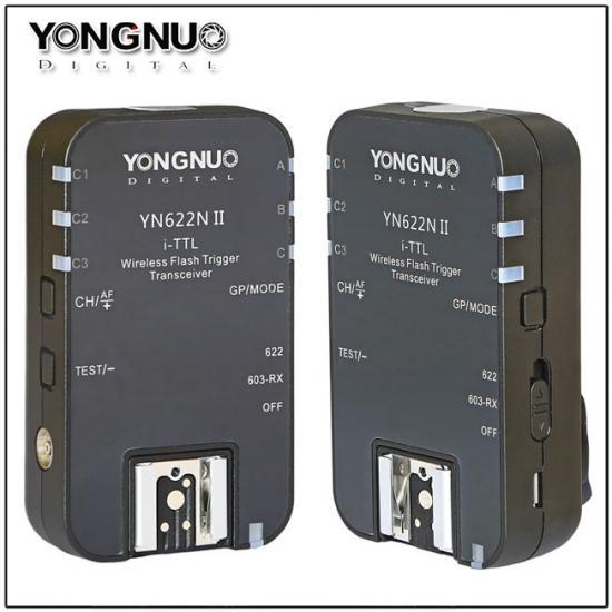 Radio Flash Yongnuo 2-Transceptores I-TTL Para Nikon - Yn622n