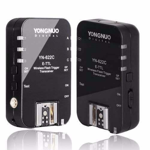 Radio Flash Para Câmeras Canon Profissional - Yn-622c