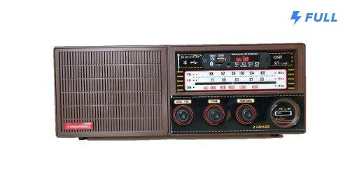 Radio Madeira Vintage Retrô 3 Faixa Entra Usb Pendrive Crc33 - FULLFILMENT