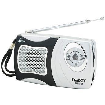 Rádio Portátil Naxa AM/FM Com Alto-Falante Integrado - NR712