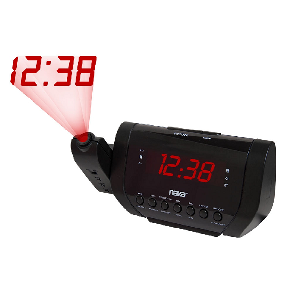Rádio Relógio Digital Com Alarme Naxa - Nrc-173