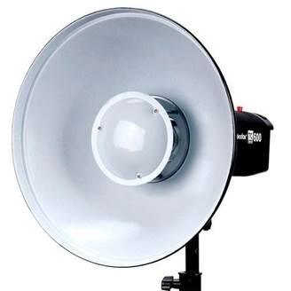 Rebatedor Beauty Dish para Flashes Branco - BDR-W420