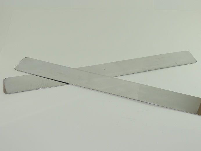Régua Para Cortar Bolo Em Alumínio 2 Peças - 64.R