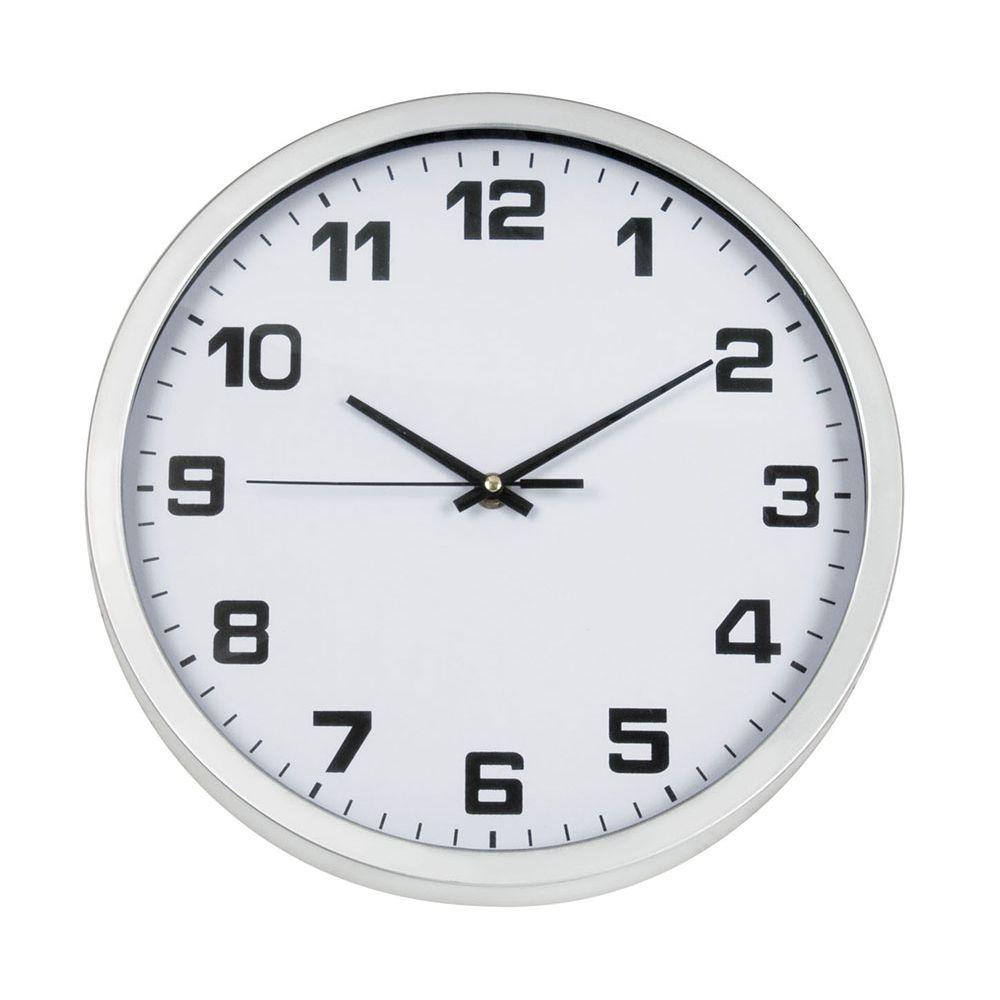 Relógio De Parede White Ricaelle - Relp-009