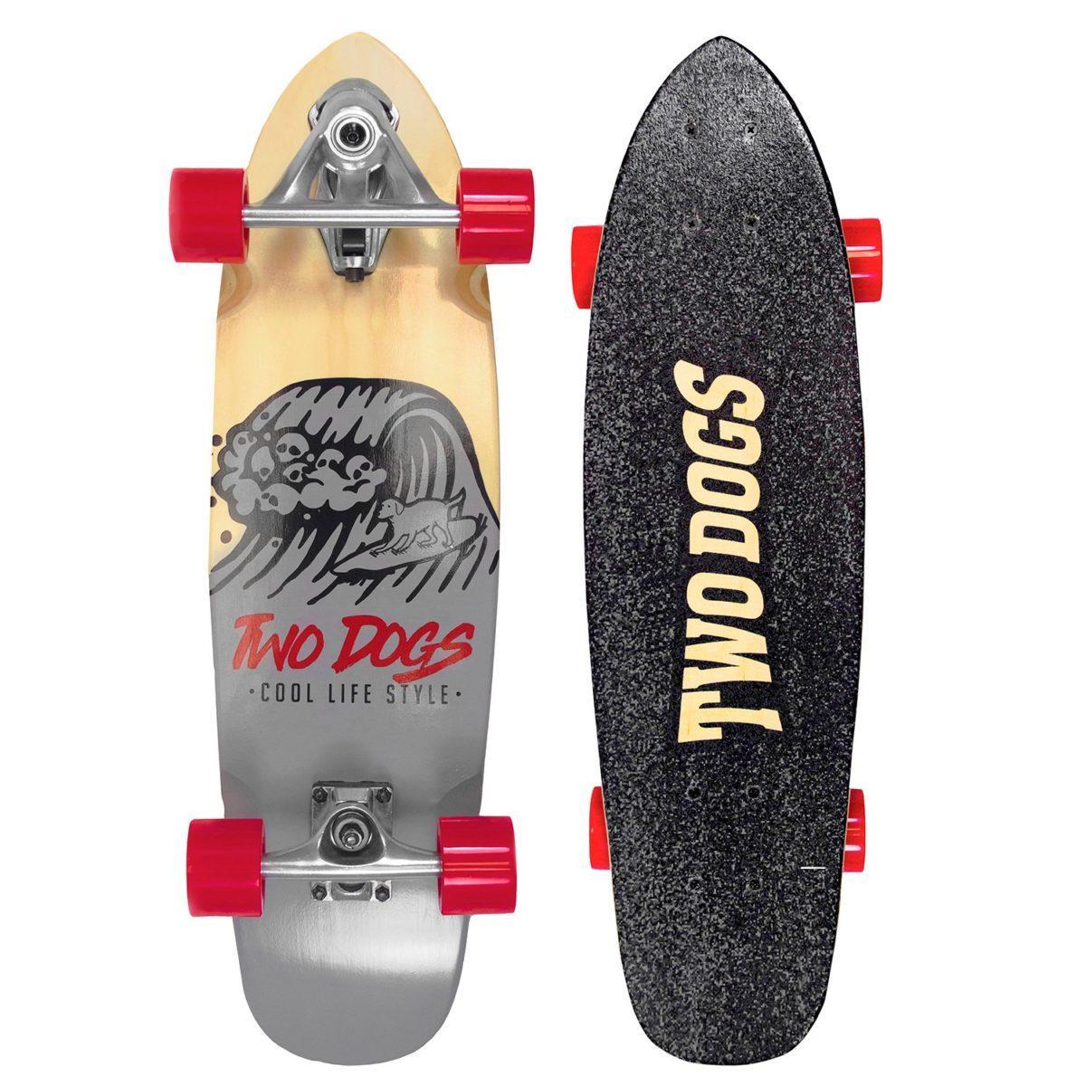 Skate Simulador De Surf Two Dogs - Surf Dog - TD-SS101