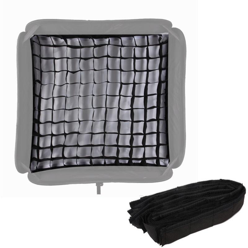 "Softbox Para Flash Dedicado 60x60cm Speedlight Dobravel Com Grid ""SpeedLite"" -  SFUV60X60"