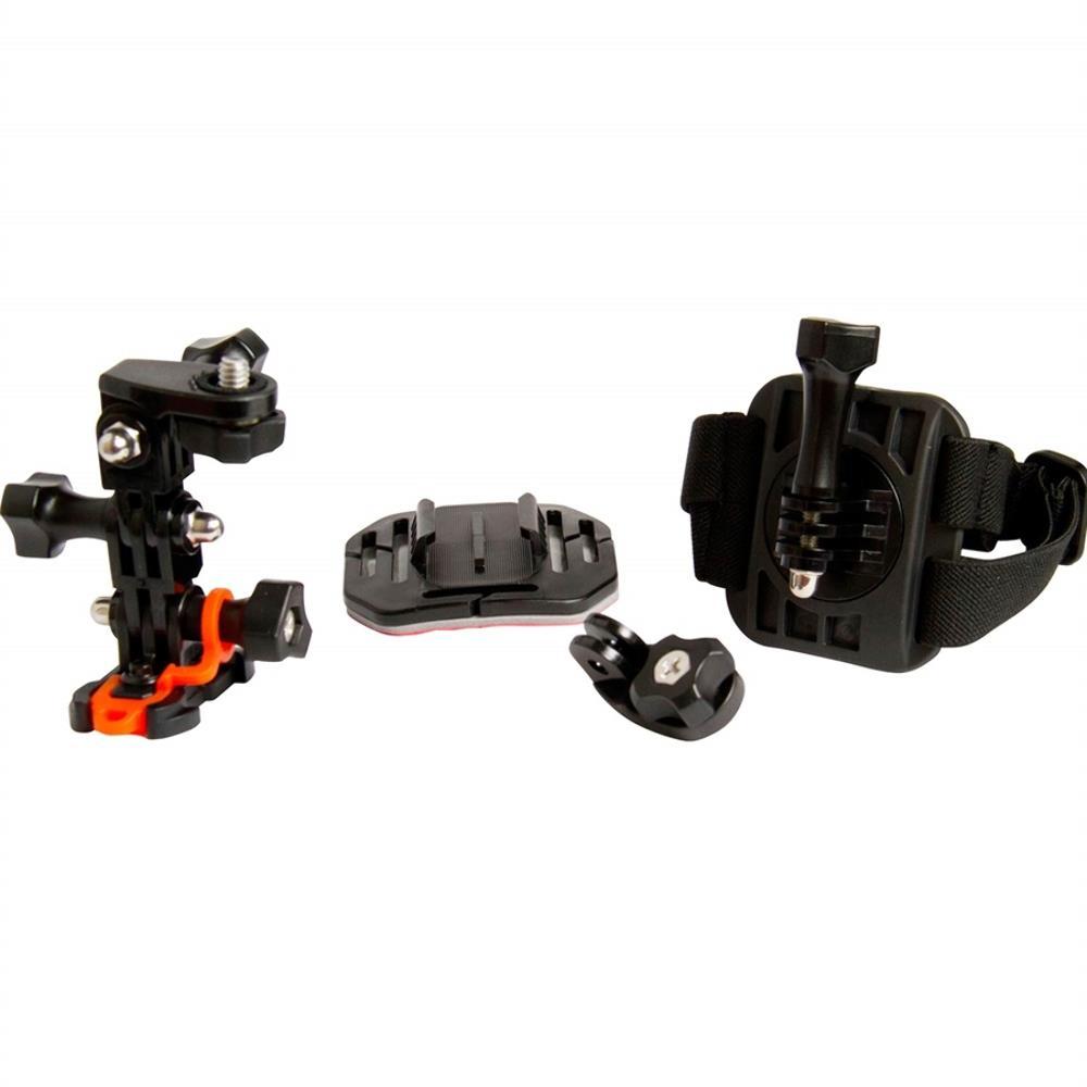 Suportes Vivitar Para Montagem De Câmera De Ação Em Capacete - VIV-APM7004